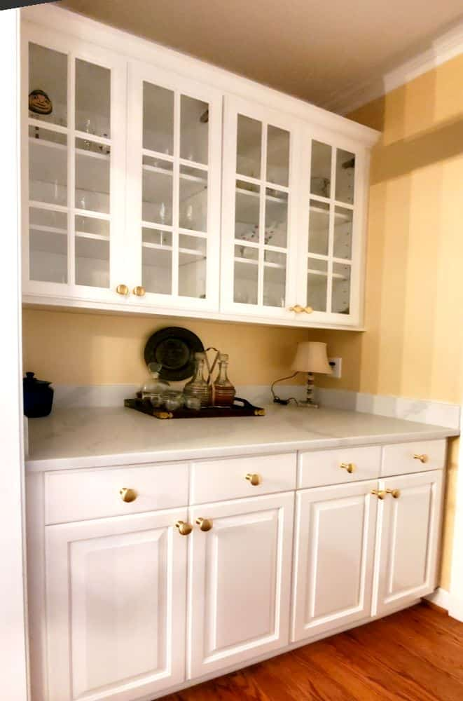 Cabinet Cures of the Triangle Butler's Pantry