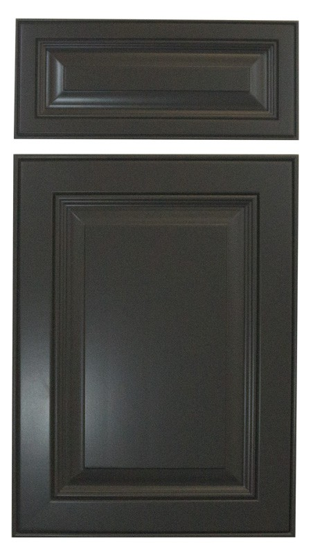 Cabinet Cures Triangle | Cabinet Refinishing | Dark Shadows Lacquer Sample