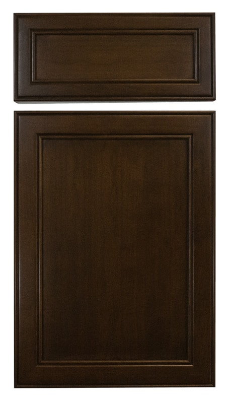 Cabinet Cures Triangle | Cabinet Refinishing | El Chocolate Stain Sample