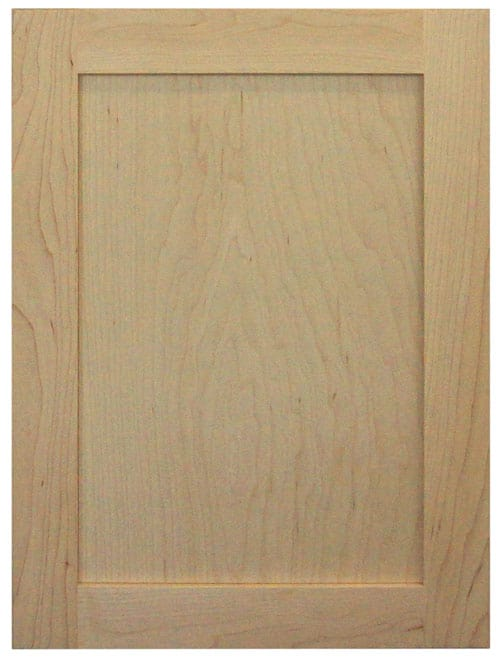 Cabinet Cures Triangle | Cabinet Refinishing | Shaker Door Sample