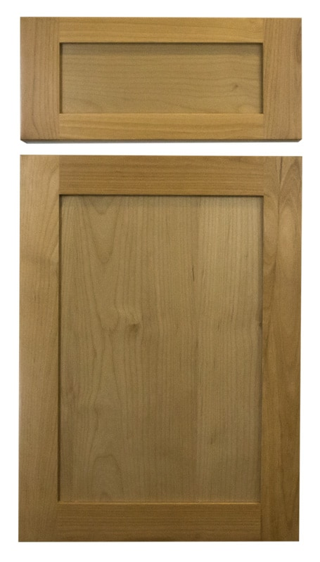 Cabinet Cures Triangle | Cabinet Refinishing | Natural Stain Sample