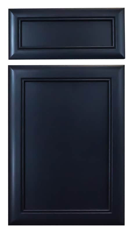 Cabinet Cures Triangle | Cabinet Refinishing | Blue Lagoon Lacquer Sample