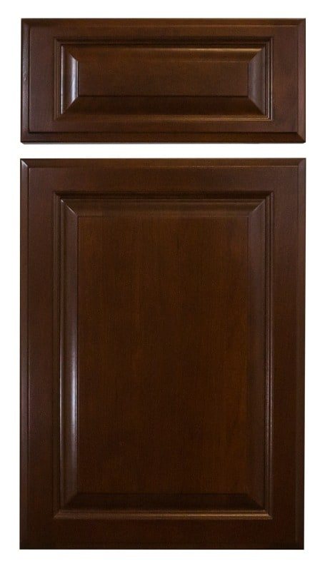 Cabinet Cures Triangle | Cabinet Refinishing | Burnt Cinnamon Stain Sample