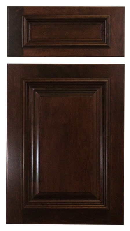 Cabinet Cures Triangle | Cabinet Refinishing | Dark Mahogany Stain Sample