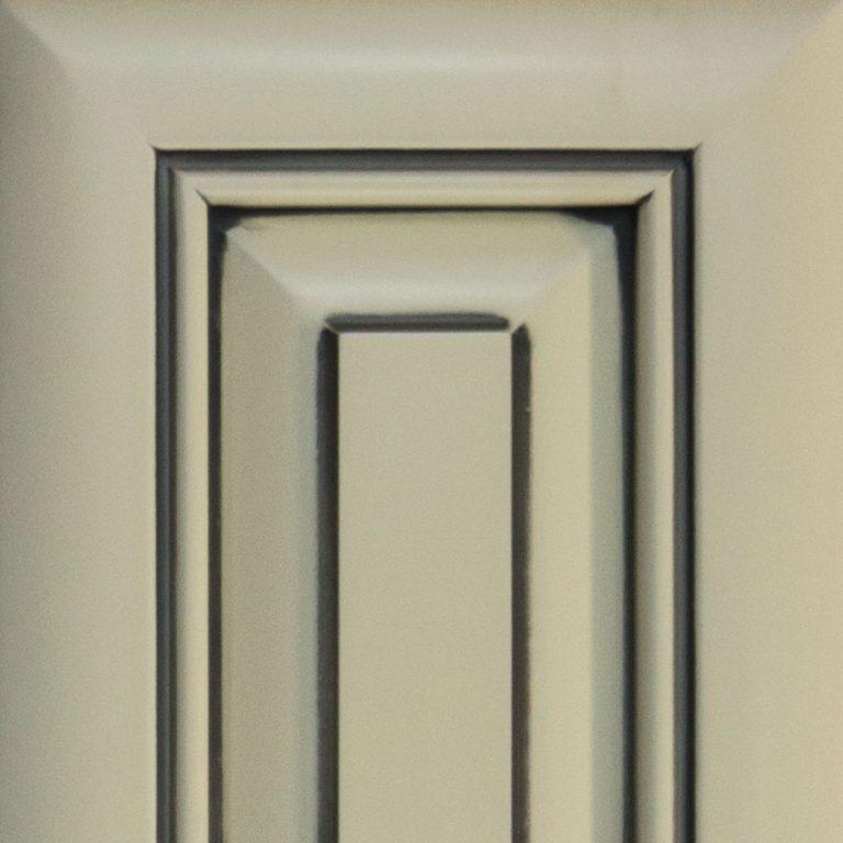 Cabinet Cures Triangle | Cabinet Refinishing | Pewter Custom Glaze Sample