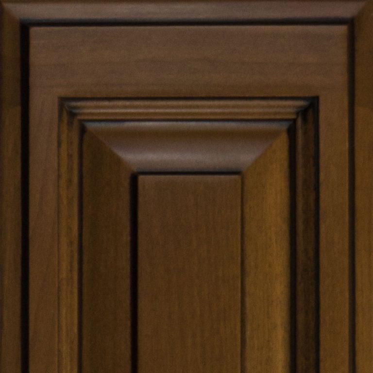 Cabinet Cures Triangle | Cabinet Refinishing | Black Glaze Custom Glaze Sample