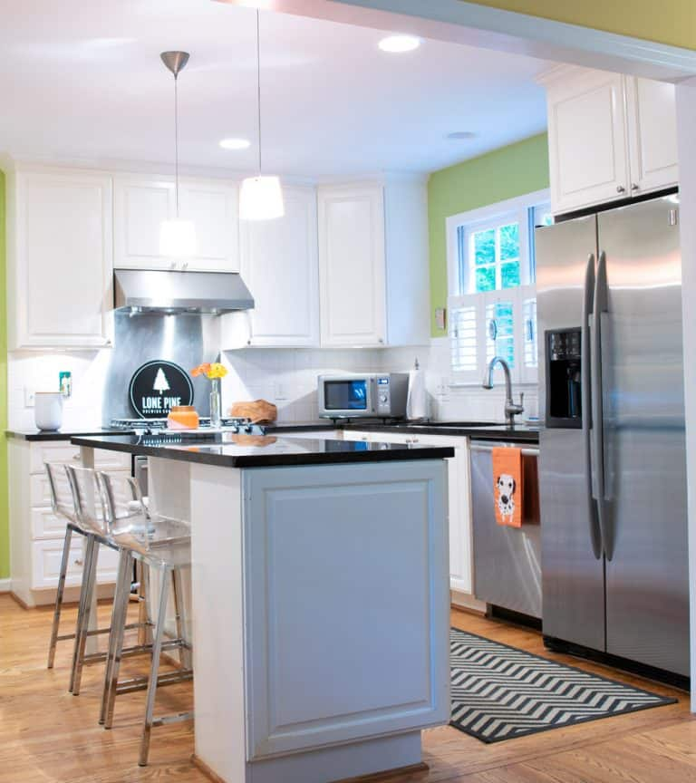 Cabinet Cures Triangle | Cabinet Refinishing | Before
