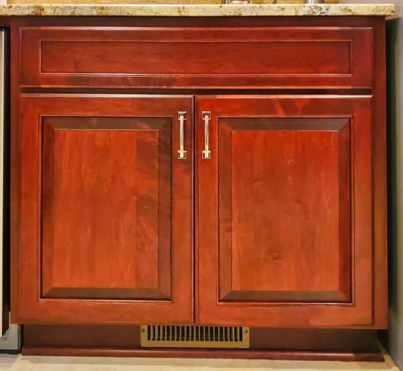 Cabinet Cures of the Triangle | Lower Cabinet Refacing