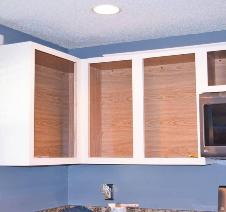 we remove all doors and drawer fronts