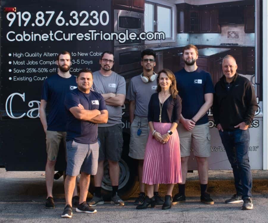 Expert Cabinet Refacing team in Raleigh